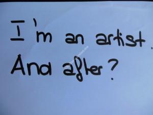 I am an artist 2