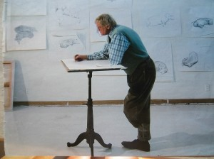 Hockney teckels