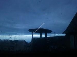 Cheminée crépuscule 2