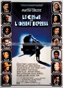 Affiche Crime Orient express