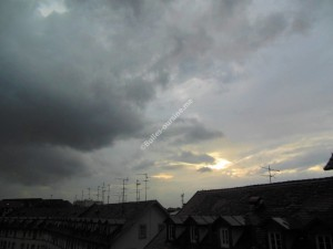 Pluie en août 2